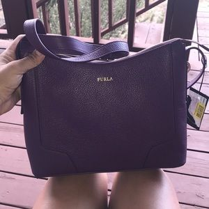 Beautiful purple Furla purse